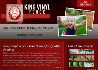 King+Vinyl+Fence Website