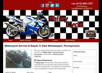 Valley+Cycle+Service Website
