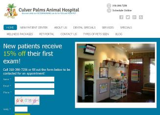 Culver+Palms+Animal+Hospital Website