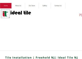 Ideal+Tile+of+Freehold Website