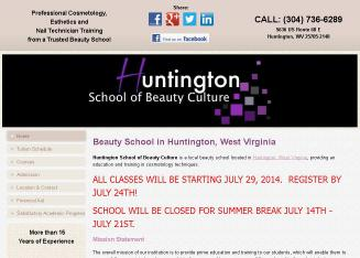 Huntington+School+of+Beauty+Culture Website