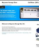Bayonne+Garage+Door Website