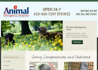Animal+Emergency+Hosptial Website
