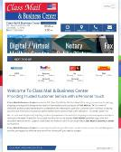 1St+Class+Mail+%26+Business+Center Website