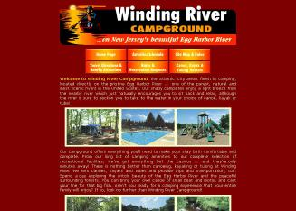 Winding+River+Campgrounds Website