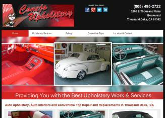 Conejo+Upholstery+Inc Website