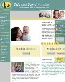 Safe+%26+Sound+Nannies Website