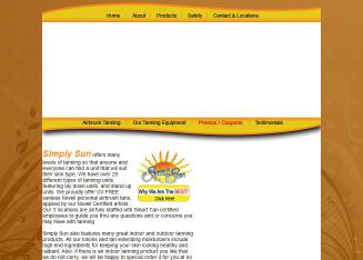 Simply+Sun+Tanning Website