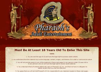 Pharaohs+Gentlemens+Club Website