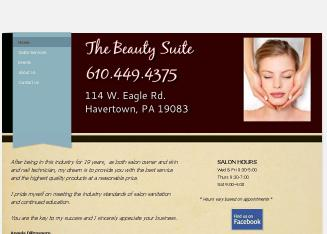 The+Beauty+Suite Website