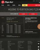 Pizza+Hut Website