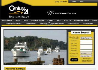 Century+21+Nachman+Realty Website