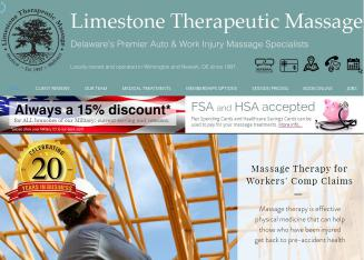 Limestone+Therapeutic+Massage Website