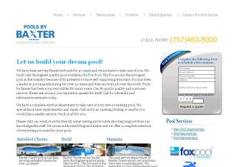 Pools By Baxter in Virginia Beach, VA | 2220 Laskin Rd, Virginia ...