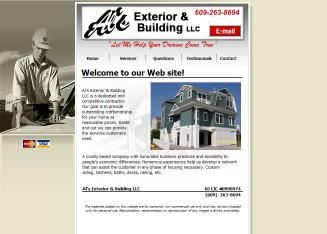 Al%27s+Exterior+%26+Building+LLC Website