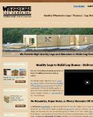 Wholesale+Log+Homes+INC Website