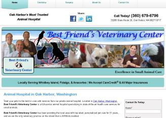 Best+Friend%27s+Veterinary+Center Website
