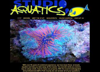 Studio+Aquatics Website