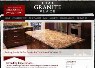 That+Granite+Place Website