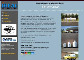 Ideal+Bottle+Gas+Inc. Website