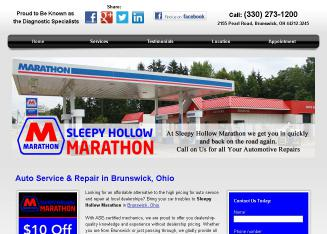 Marathon+-Sleepy+Hollow Website