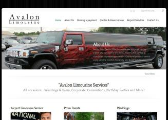 Avalon+Limousine+Service%2C+Inc. Website