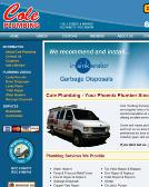 Cole+Plumbing Website
