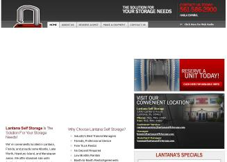 Lantana+Self+Storage Website