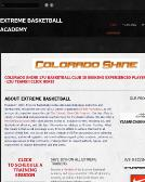 Extreme+Basketball+Academy Website