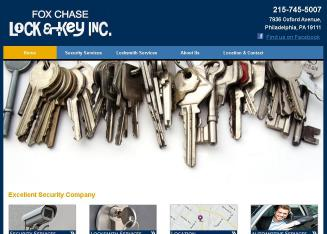 Fox+Chase+Lock+%26+Key Website