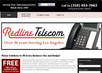 Redline+Telecom Website