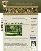 Newton+Hills+State+Park Website
