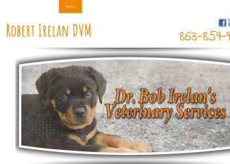 Robert+Irelan+DVM Website