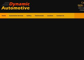 Dynamic+Automotive+Repair Website