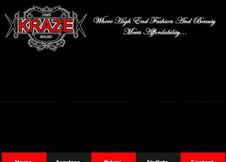 Kraze+Hair+Salon Website
