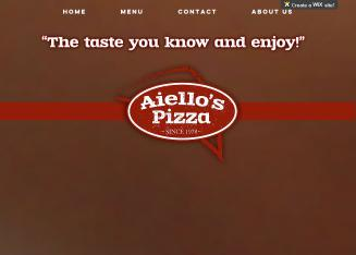 Aiello%27s+Pizza Website
