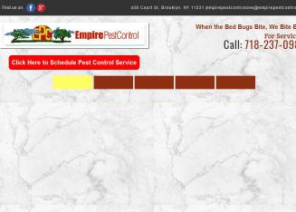 Empire+Pest+Control Website