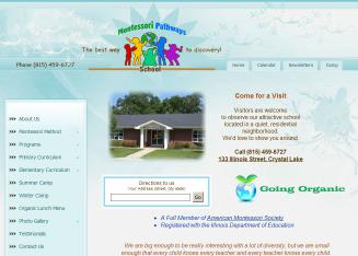 Montessori+Pathways+School Website