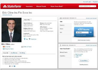 Eric+Cline+-+State+Farm+Insurance+Agent Website
