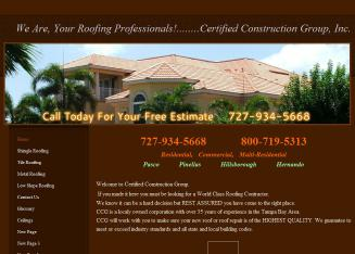 Certified+Construction+Group Website