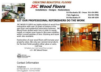 JSC+Wood+Floors Website