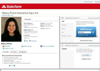 Nancy+Fiore+-+State+Farm+Insurance+Agent Website
