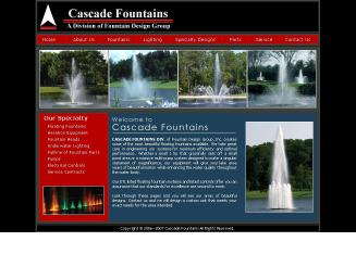 Cascade+Fountains Website