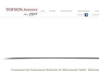 Tofson Insurance Agency Inc