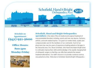 Schofield Hand & Bright Orthopedic - Adam S Bright