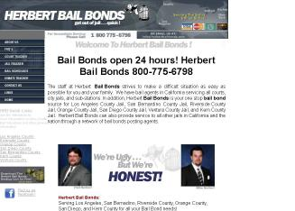 Herbert+Bail+Bonds Website