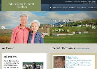 Bill+DeBerry+Funeral+Directors Website