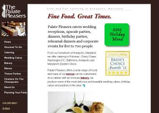 The+Palate+Pleasers Website