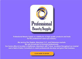 Professional+Beauty+Supply Website