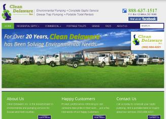 Clean+Delaware+INC Website